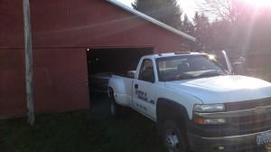 truck boat storage